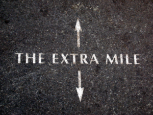 Build Your ROI On The Extra Mile