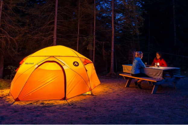 Setting Up Camp – How to choose a good spot